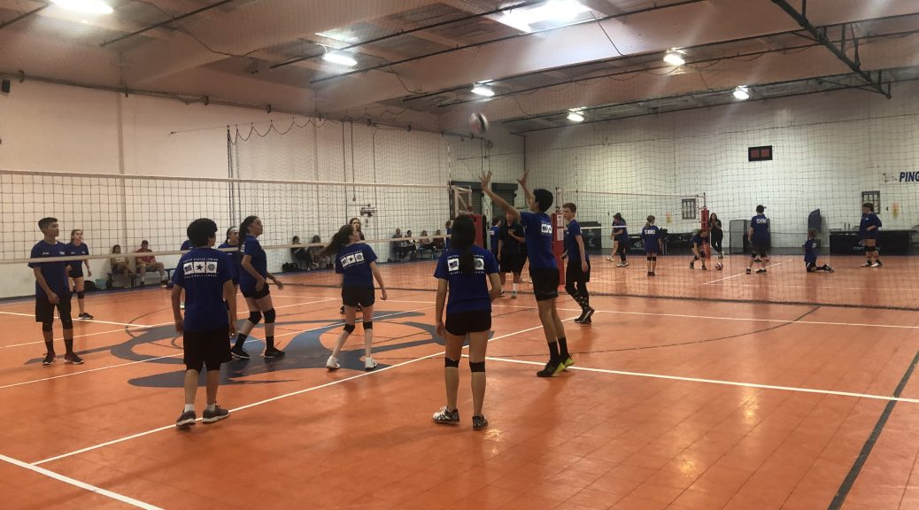 indoor youth volleyball